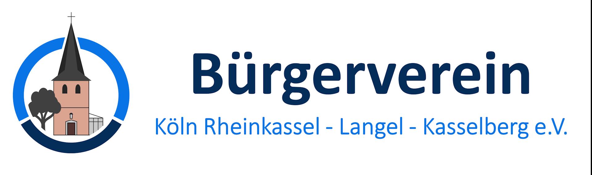 Logo mit Text in Groß Bürgerverein RheiLaKa